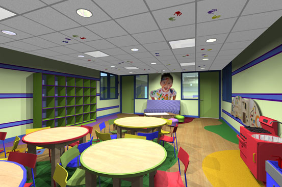 childrens center orange county interior design pacific coast design